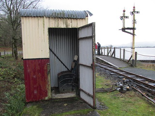 72.llangower ground frame ex LSWR in an old GWR lamp room hut! | by Scubatrack