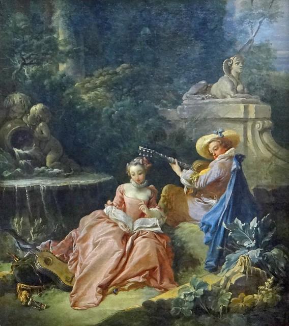 La leçon de musique (Musée Cognacq-Jay, Paris)