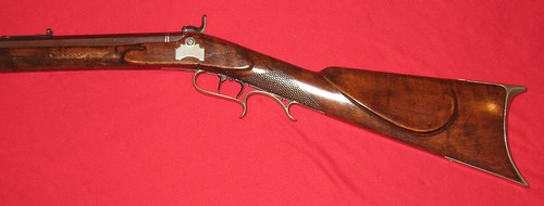 G. W. Winn Rifle - Made In Carrollton, Illinois