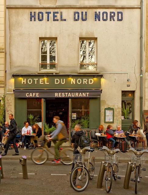 Hôtel du Nord / Canal Saint-Martin / Paris  -  1/2