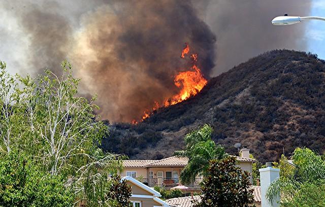 Stevenson Ranch Brush Fire