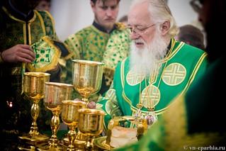 Божественная Литургия в д.Леохново 480