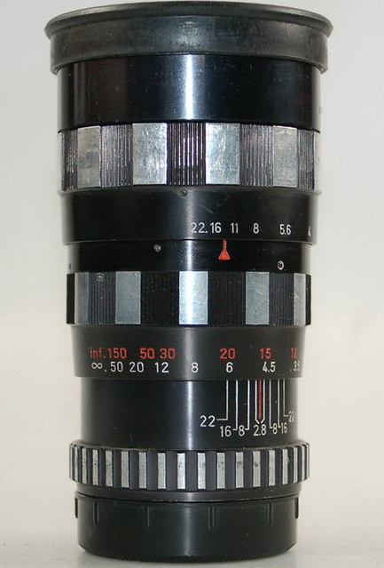 Enna München Tele-Ennalyt 135mm ƒ/2.8 Zebra
