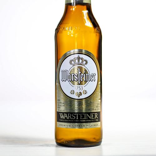 Pilsner Showdown Beers - Warsteiner - Warsteiner Premium Verum / German Pilsener | by fourbrewers