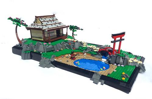 Samurai Sanctuary | by NeverEnoughLego