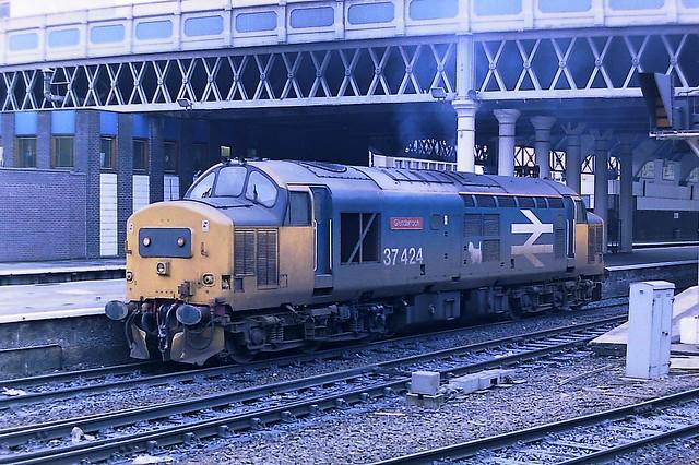 BRITISH RAIL 37424 GLENDARROCH