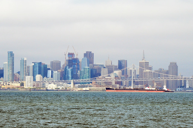 San Francisco, from Alameda