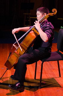 Sean Yu, cello, 12, from Rye, NY | by From the Top, Inc.