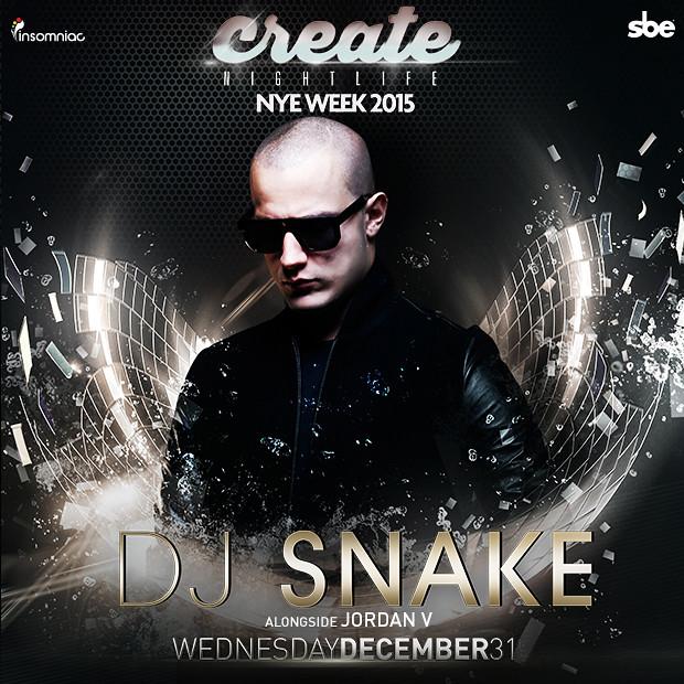 #DjSnake   Tickets: www.createnightclub.com/VikaO - 15%