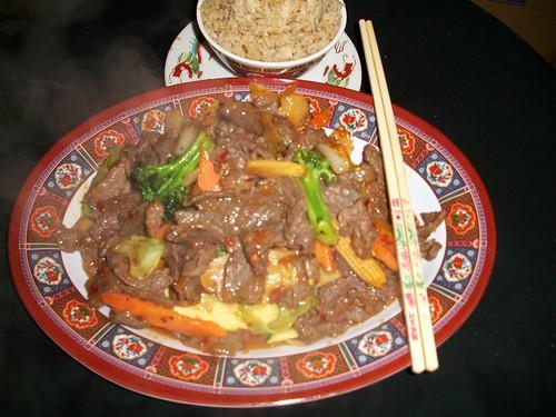 B7 PEKING BEEF   by Golden Gate Chinese Restaurant