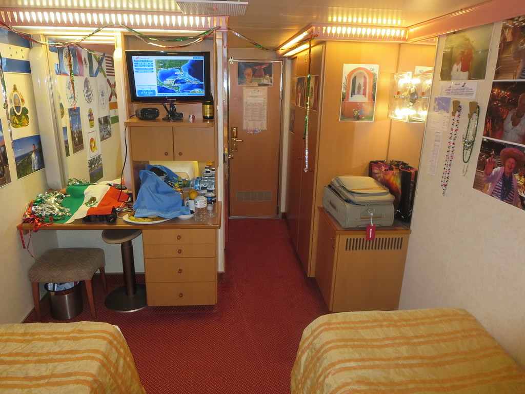 Carnival Glory Cruise Ship Interior Stateroom Decorated Fo Flickr