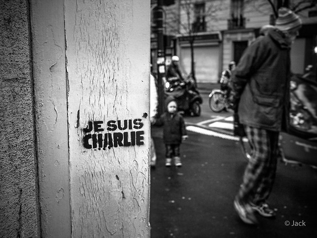 Hommage - Je suis Charlie #5