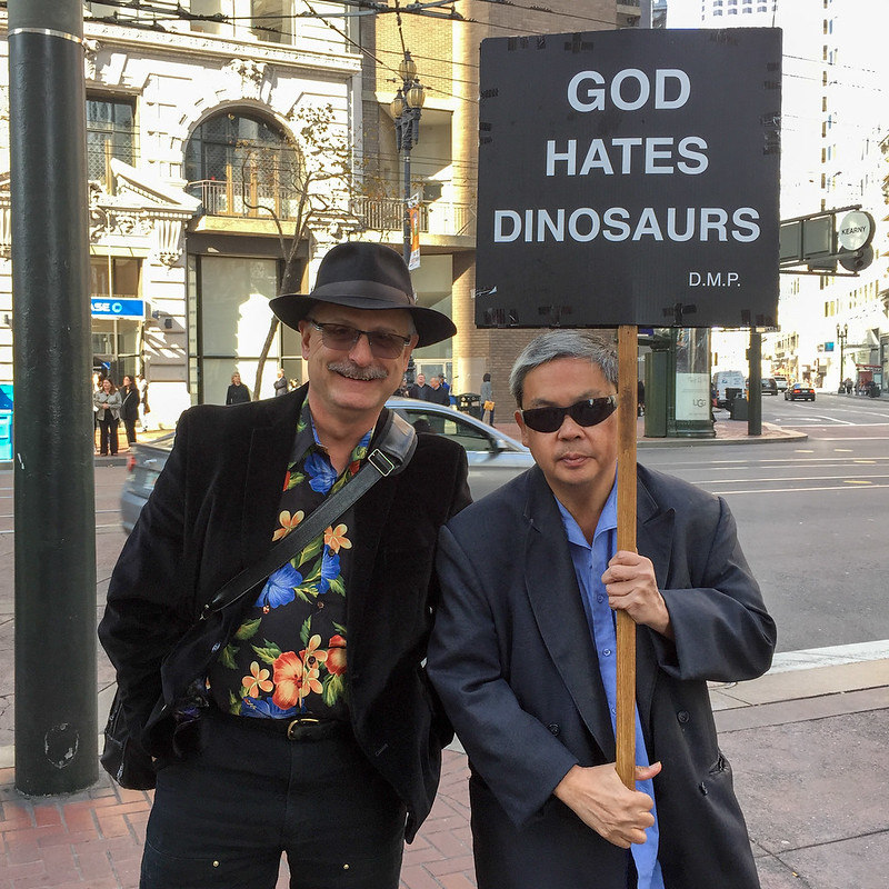 John Law, Frank Chu and God Hates Dinosaurs