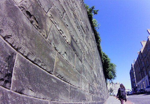 Edinburgh wall