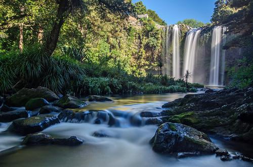 longexposure newzealand water river nikon falls whangarei