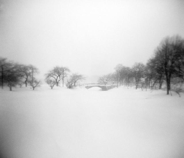 Foot Bridge - blizzard no. 2