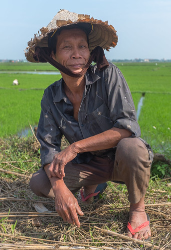 Rice Farmer in Hoi An, Vietnam | by Christopher Crouzet