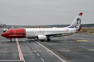 Norwegian (Knud Rasmussen livery), LN-NOY, Boeing 737-8JP | by Anna Zvereva