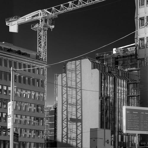 crane shadow | by Christian R. Hamacher