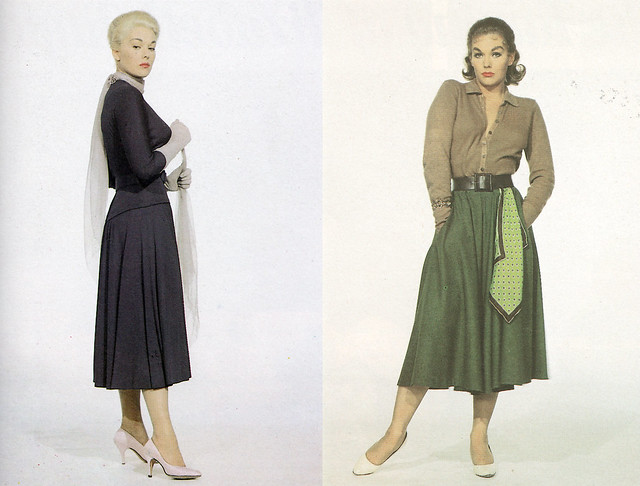 Kim Novak as Madeleine (left) and Judy (right) in