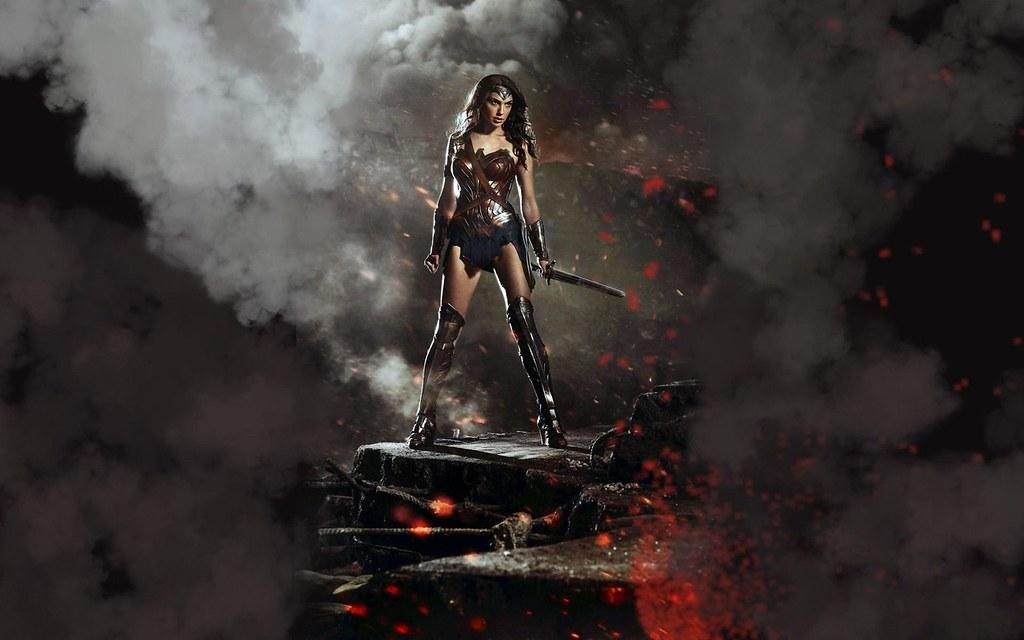 Gal Gadot As Wonder Woman In Batman V Superman Stylish H