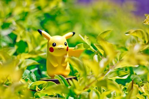 Pikachu amiibo | by FaruSantos