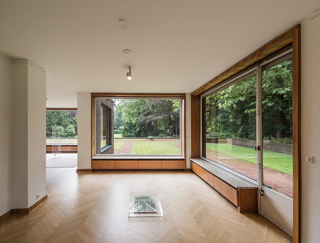 Haus Lange Architekt Ludwig Mies Van Der Rohe Lars Christian
