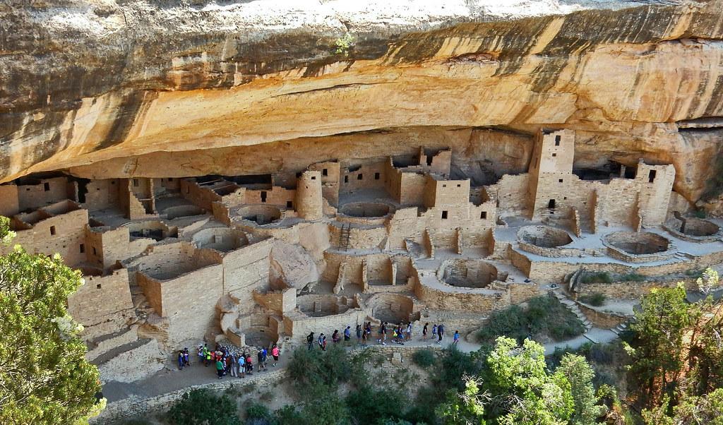 0fcb4c0f ... Cliff Palace - 11th Century Stone Village, Mesa Verde National Park in  Southwest Colorado