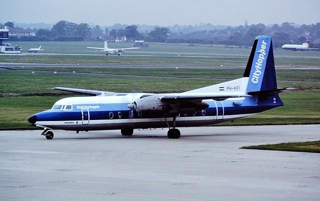 PH-KFI F27 NLM BHX 18-08-86