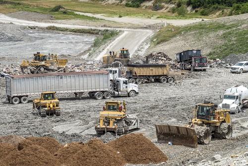 121 RDF Wark pic, equipment, landfill #solidwaste