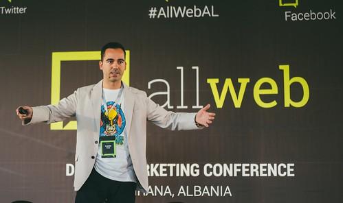 Speaking in Tirana, Albania   by vladimir.vulic