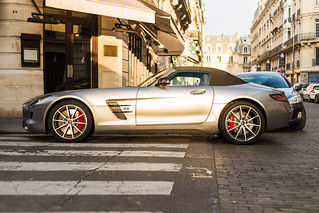 Mercedes SLS cabriolet | by Benoit cars