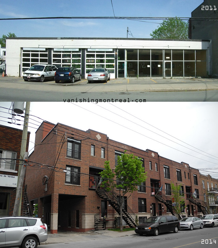 Before / After:  Verdun street