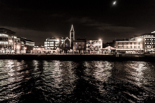 Dublin City And Docklands at Night Ref-100139 | by infomatique