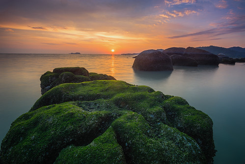 ... the green carpet | Sunset | by Keris Tuah