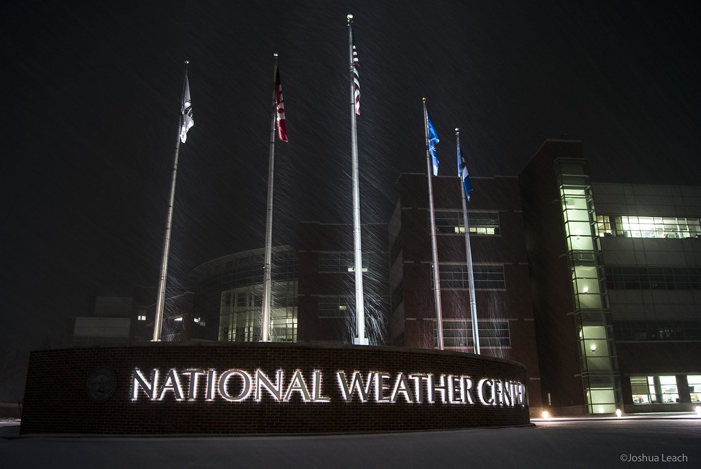National Weather Center   NWC while heavy snow is occurring