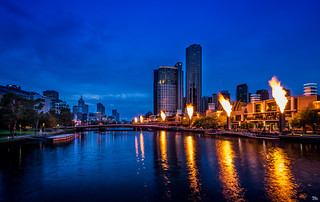 Crown Casino Flames | by mark.iommi