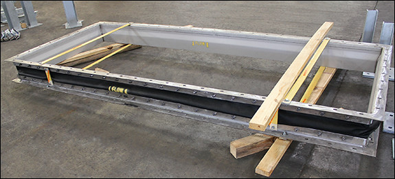 Fabric Expansion Joint Designed for a Natural Gas Application in a Gas Turbine