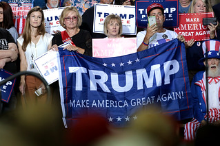 Donald Trump supporters   by Gage Skidmore