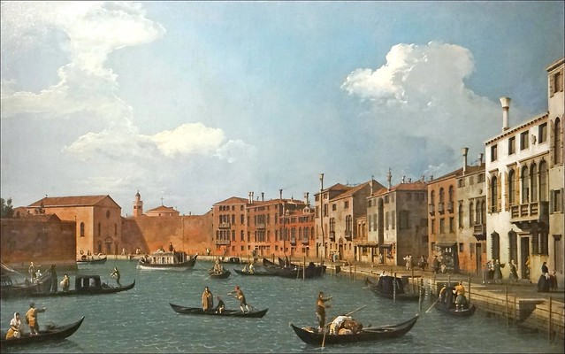 Vue de Venise et du Burchiello (Musée Cognacq-Jay, Paris)