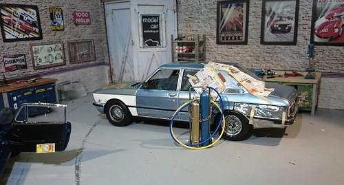 BMW 525 E12 rust (4)   by www.MODELCARWORKSHOP.nl