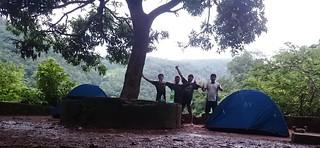 Camping at Malola Temple | by wanderingjatin