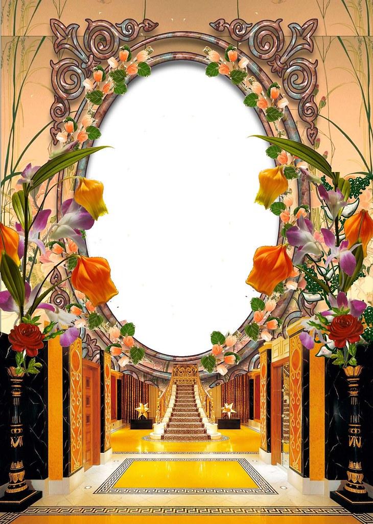 Download Wedding Frame | frame_001 png Format File : PNG Fil