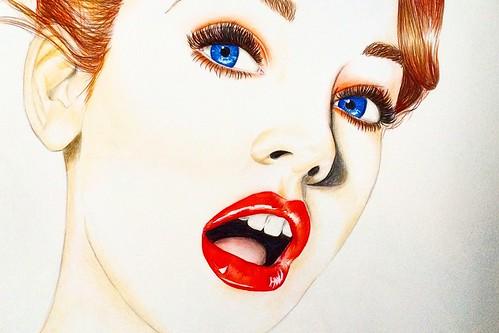 Barbara Palvin Illustration | Susie__ | Flickr
