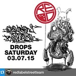#Repost @redlabelstreetteam with @repostapp.・・・This Saturday's drop is gonna fly off the shelves! Another sneak peak of our collabo drop with our fam @spel_killz 🙌🎴 Make sure you all come to the shop 2570 S.Beretania St.