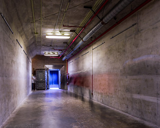 National gold supply vault entrance