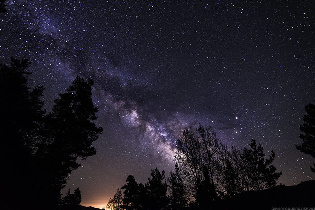 Milky Way Over the World