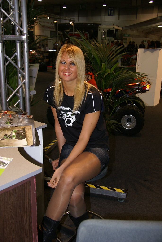 Bike Expo Girl  Themax2  Flickr-8549