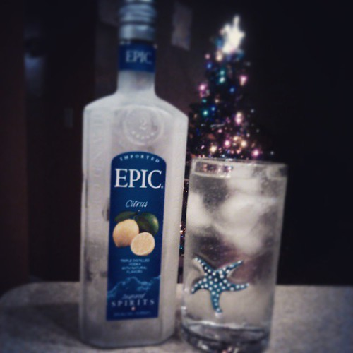 #vodka is the reason for the season. Merry Christmas! #paleococktails ;) P.S. this vodka kinda sucks. Sale wasn't worth it. | by janeknowit_all