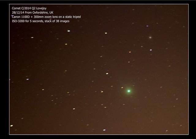 Comet C/2014 Q2 (Lovejoy) 28/12/14